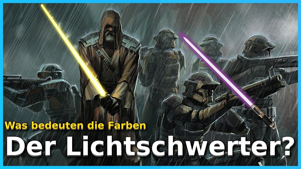 Star Wars Lichtschwert Farben