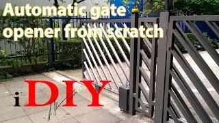 DIY gate remote opener for under 50$