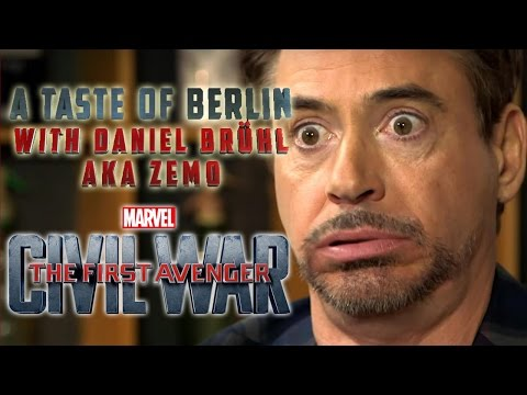 A Taste Of Berlin: with Daniel Brühl aka Zemo  The First Avenger: Civil War   Marvel HD