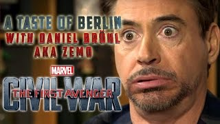 A Taste Of Berlin: with Daniel Brühl aka Zemo - The First Avenger: Civil War |  Marvel HD