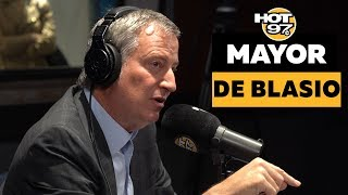 Mayor de Blasio On Closing Rikers Island, Officer Pantaleo Firing, Presidential Run, & Impeachment