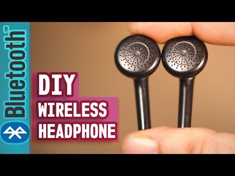 How to make your  Headphone Wireless (Even Broken Headphone)- DIY LIFE HACK