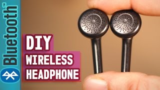 How to make your Headphone Wireless(Even old Broken Headphone)-DIY Life Hack Tutorial thumbnail