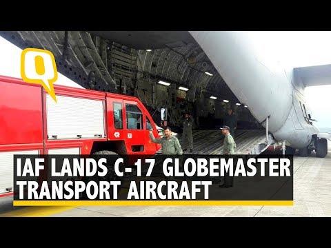 IAF Lands India's Largest Transport Aircraft C-17 Globemaster | The Quint