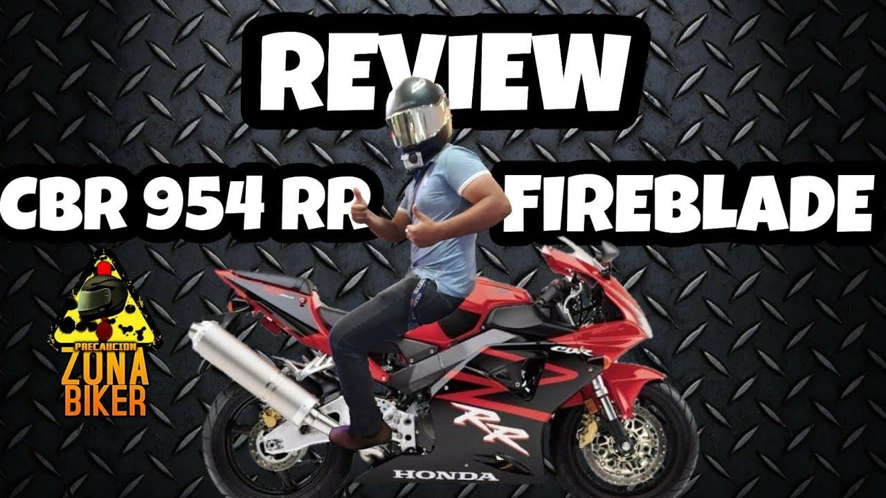 REVIEW honda CBR 954 RR Fireblade modelo 2002!!!