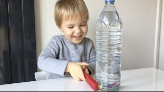 Educational Activity For Toddlers And Preschoolers: Magnet Discovery Bottle