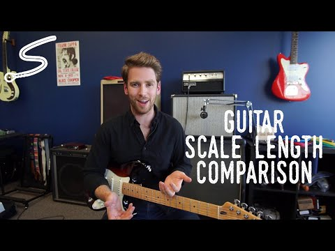 Scale Length Comparison: Fender vs Gibson, What's the Difference?
