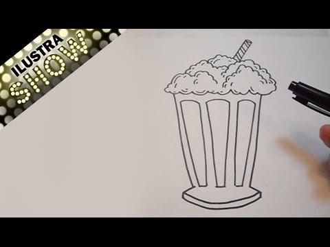 Dibujar Una Malteada Tutorial Ilustra Show