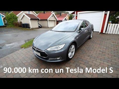 """¿Cómo afectan 90.000 km a un Tesla Model S? ¿""""Envejece"""" mucho?"""