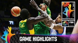 Greece v Senegal - Game Highlights - Group B - 2014 FIBA Basketball World Cup