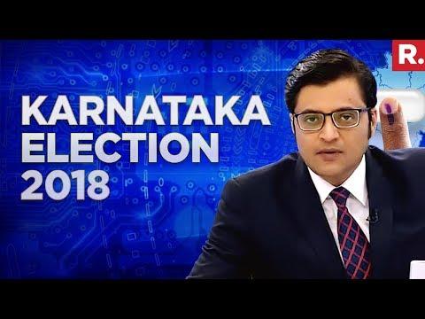 2018 Karnataka Election Results  - LIVE With Arnab Goswami #May15WithArnab