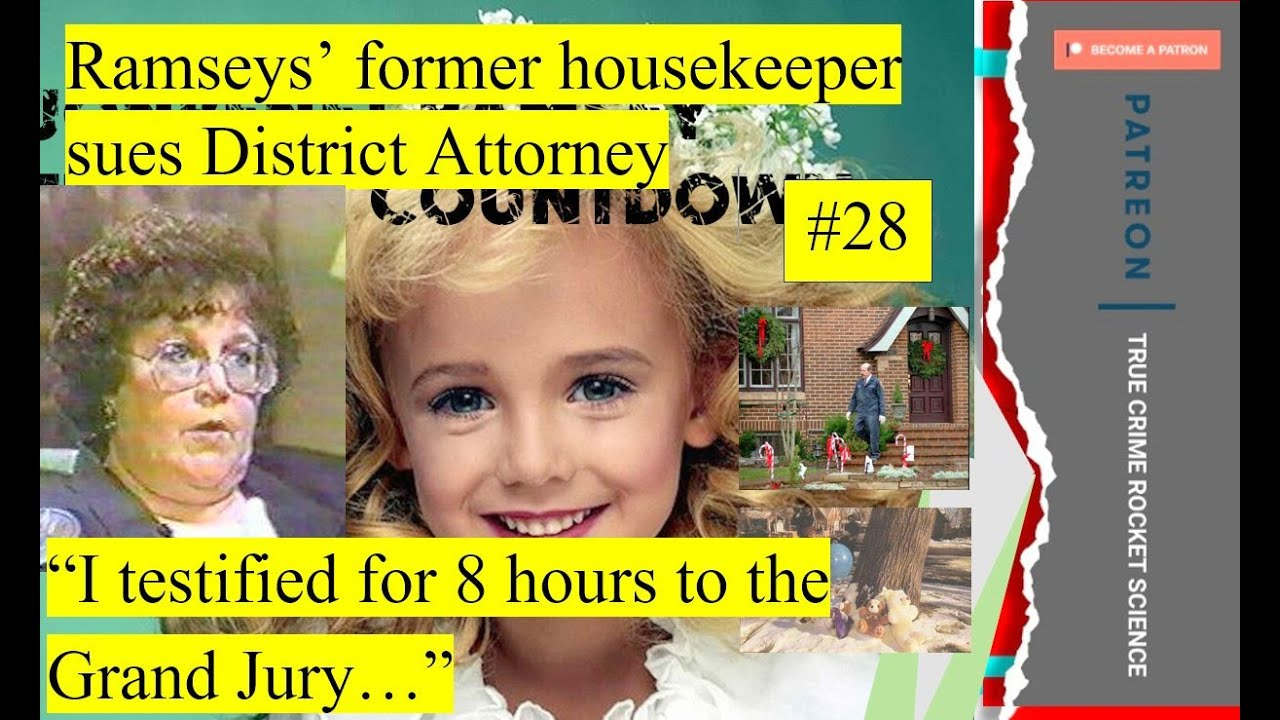 """Download Ramsey Housekeeper: """"I know who killed JonBenet..."""" #28"""