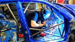 WRC Roll Cage Inception - Subaru Impreza STi WRC / Gymkhana Build Series - EP 6