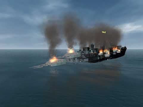 the end of the German battleship Bismarck