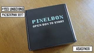 #153 Unboxing: PIXEL-BOX (Październik 2017 - NIGHTMARE) [PL]