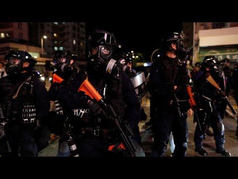euronews (deutsch): Tränengas und Steine bei erneuten Protesten in Hongkong