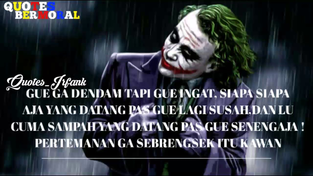 story wa kata kata keren joker dan artinya