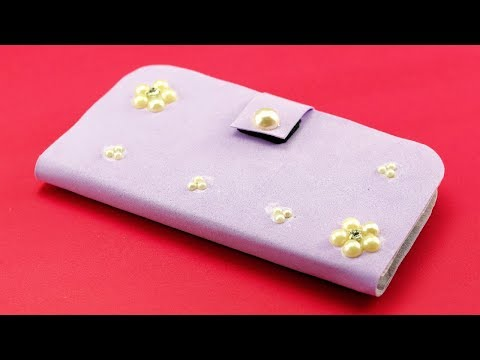 How to Make Phone Case at Home - DIY Mobile Cover