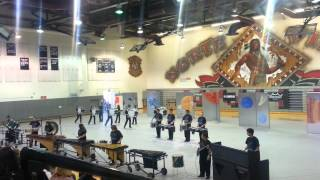 ADLA winter drumline competition