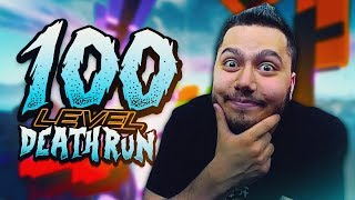 ΤΑ ΚΑΤΆΦΕΡΑ 100 LEVEL DEATHRUN!! (Fortnite: Creative)