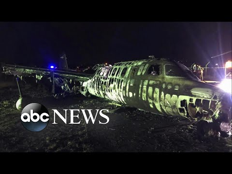 Plane Carrying Medical Supplies Goes Down In Philippines