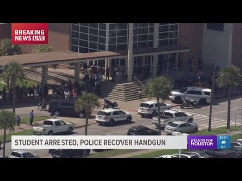 GISD: Ball High School student arrested after bringing gun to school