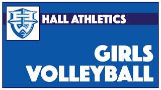 Hall Freshman Girls Volleyball vs. Enfield