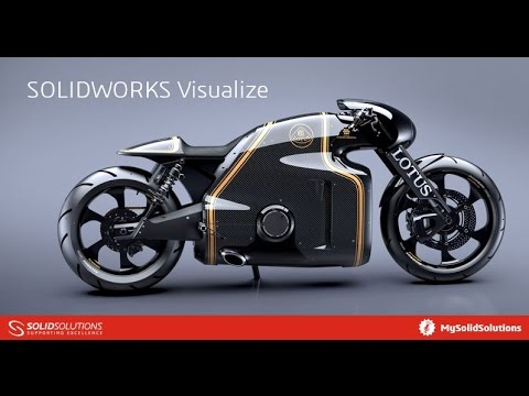 SOLIDWORKS Visualize - Lesson 1
