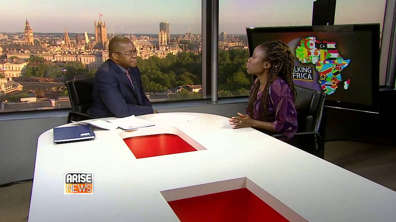 Yasmin Belo-Osagie, a co-founder of She Leads Africa, on Talking Africa