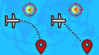 Por qué los aviones no vuelan sobre el océano Pacífico?