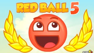 Red Ball 5 Walkthrough All Levels 3 Stars!