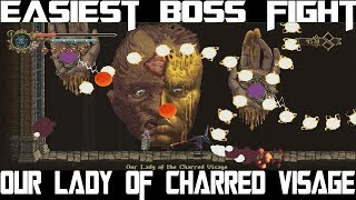 Easiest Boss fight - Our lady of charred visage , Blasphemous