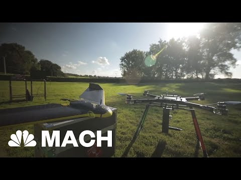 A Drone That's On A Mission To Plant One Billion Trees | Mach | NBC News