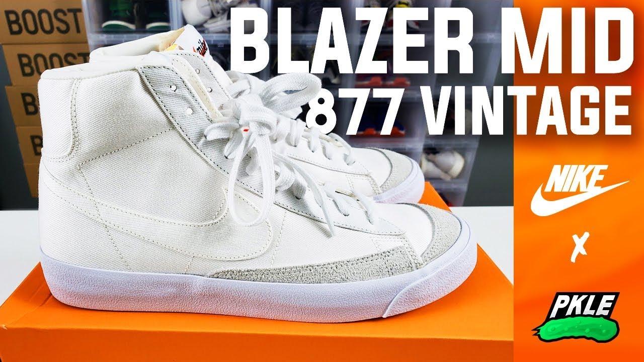 nike blazer sail white