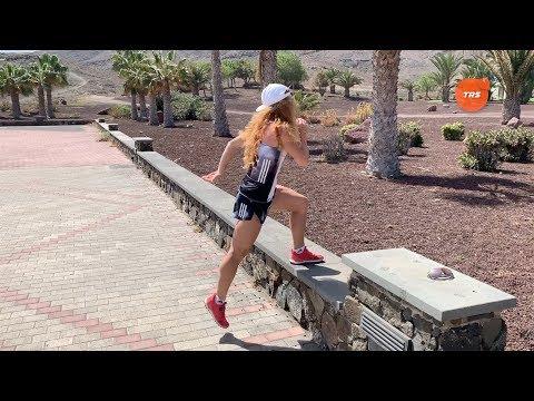 Пять  упражнений для бега в гору.
