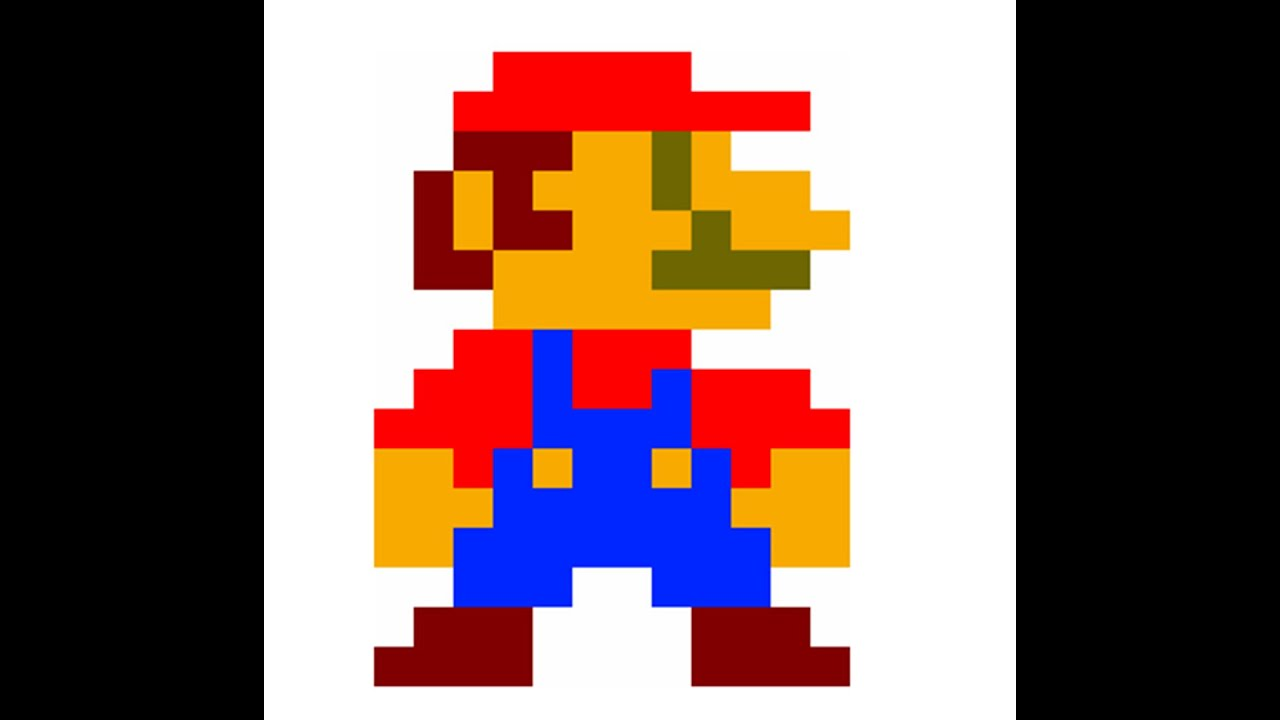 8 bit mario emblem making 4 how to call of duty - Pictures of 8 bit mario ...