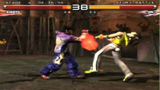 Tekken 5 PCSX2 0.9.7 97-100% Speed AMD Mobility HD 6370/5470 1GB