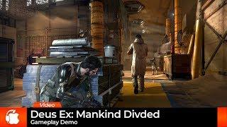 Deus Ex: Mankind Divided - Mac Gameplay