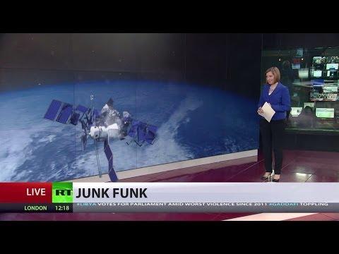 Satellites collide in the RT newsroom