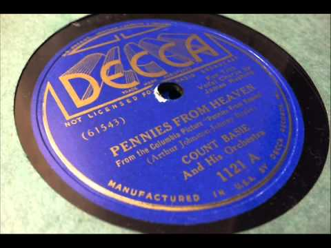 78 RPM: Count Basie & his Orchestra - Pennies From Heaven