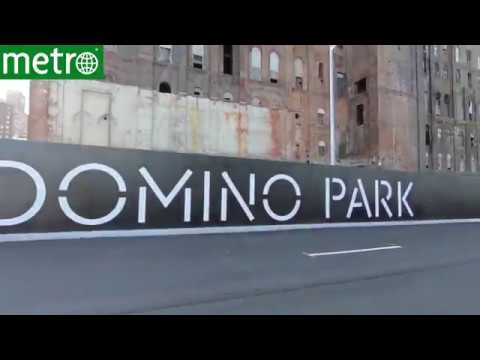 Take an exclusive look inside Brooklyn's Domino Sugar refinery