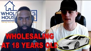 Wholesaling Houses Elite Podcast | Buying a Lamborghini at 21