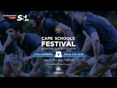 Cape Schools: Stellenberg 1st XV vs Dale College 1st XV,  03 July