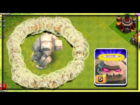 IMMORTAL GOLEM - CLASH OF CLANS ! | MASS HEALERS + 1 GOLEM | OMG! IT'S  IMMORTAL ! | COC | GOLEMWALK