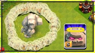 IMMORTAL GOLEM - CLASH OF CLANS ! | MASS HEALERS + 1 GOLEM | OMG! IT