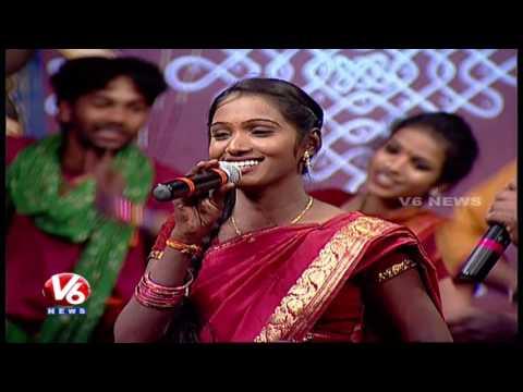 Chinni Chinni Danive O Pilla Song | Telangana Folk Songs | Dhoom Thadaka | HD | V6 News