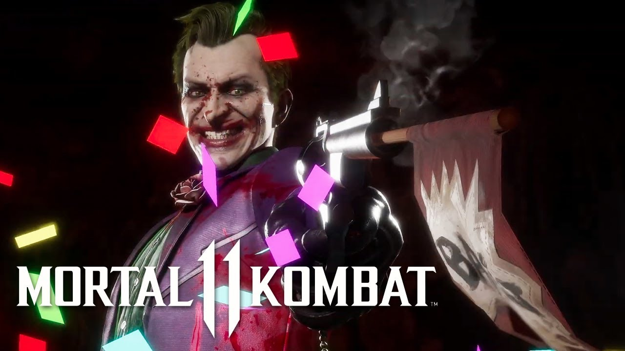 Mortal Kombat 11 - Official Joker Gameplay Trailer