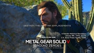 Metal Gear Solid V: Ground Zeroes - Gameplay Walkthrough Part 8 - Destroy the Anti-Air Emplacements