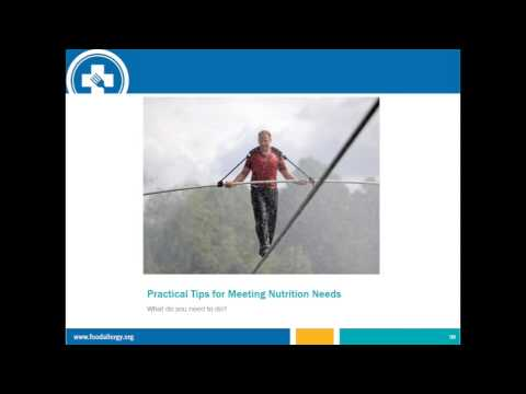 The Balancing Act  Nutrition and Food Allergy - FARE Webinar