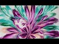(79) Dip technique _ The purple flower series _ White background _ No silicone _ Designer Gemma77